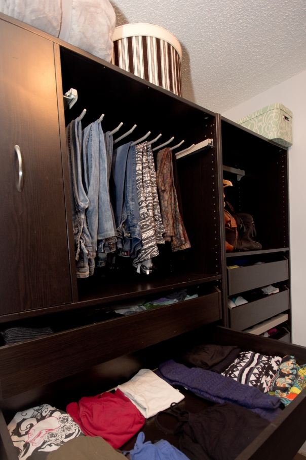 Before and After: Master Closet