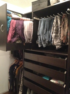 Before and After: Master Closet His and Hers